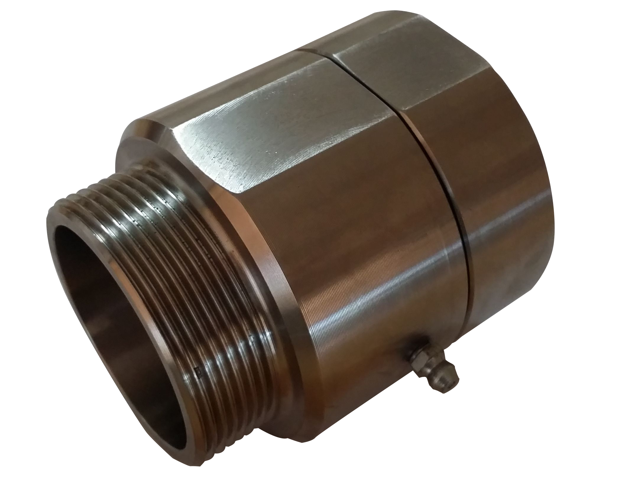 50mm Stainless Steel Swivel with grease nipple